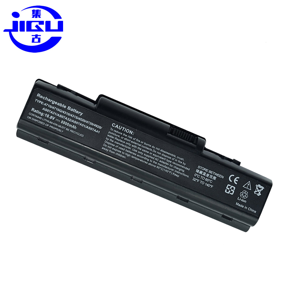 JIGU Battery For Acer AS07A41 AS07A42 AS07A51 AS07A52 AS07A71 AS07A72 AS07A75 AS2007A BT.00603.036 BT.00604.015 BT.00604.022 image