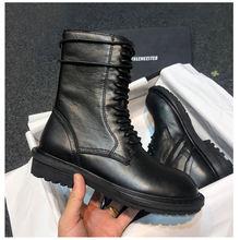 Женские ботинки; короткие Новинка; Рыцарские сапоги в британском