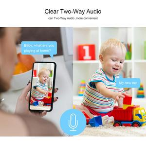 Image 3 - Faixa automática 1080 p câmera ip monitor de segurança vigilância wi fi sem fio mini inteligente alarme cctv câmera interior ipc360