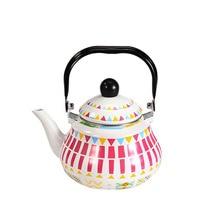 1.5L-2.5L  enamel cup Pear shaped pot kettle enameled gas coffee household kettles