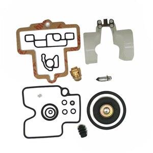 Image 2 - Carburador reconstruir kit para keihin fcr slant corpo 39 41 motores kit de reparação do motor serra de corrente carburador conjunto ferramenta junta acessórios