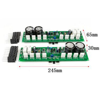 Two Channel 1000W High Power Stage Power Amplifier Board Fever Amplifier Board Amplifier Finished