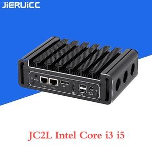 Image 4 - Мини ПК без вентилятора Core i3 7100u i5 7200u JC2L с 2 * RTL 8111E 10 м/100 м/1000 м Lan 2 com портами, M.2 SSD lan nano itx настольный компьютер