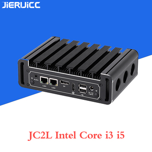 Image 4 - Core i3 7100u i5 7200u JC2L Fanless Mini PC with 2*RTL 8111E 10M/100M/1000M Lan 2 COM port,M.2 SSD lan nano itx desktop computer