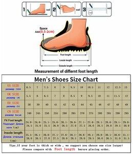 Image 5 - BIMUDUIYU Fashion Men Dress Flat Shoes Business Oxfords Shoes Pointed Toe Wedding Shoes Leather British Lace up Footwear