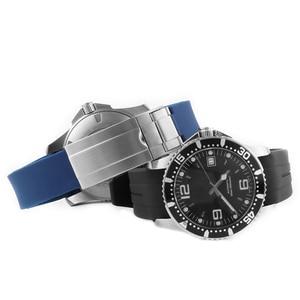 Image 3 - 21MM 20MM סיליקון רצועת השעון עבור כיבוש L3 41mm 43mm חיוג שעון עבור צוללת GMT שעון יד רצועת להקת צמיד גומי כלים