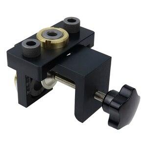 Image 4 - Doweling ジグポケット穴ジグキットウッド垂直掘削取り外し可能なロケータ家具接続穴パンチャー大工ツール