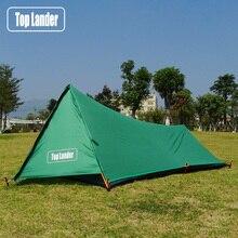 البرج خفيفة خيمة 1 شخص التخييم خيمة المشي الجبلية الظهر للماء واحد Bivvy خيمة 20D سيليكون رجل واحد خيمة