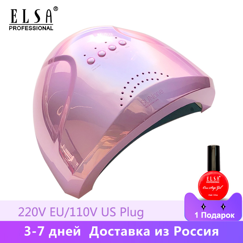 New arrival Colorful 48W SUNONE Professional <font><b>LED</b></font> <font><b>UV</b></font> Nail Lamp for nail gel polish <font><b>led</b></font> Nail Light Nail Dryer <font><b>UV</b></font> Lamp image