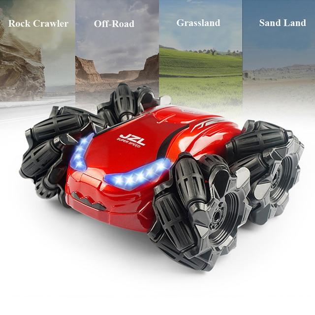 RC cars coche de Control remoto coche 4WD Rock Crawler de Control remoto juguetes de Radio Control RC truco del coche rc car 1