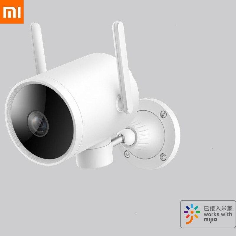 270°Wide Xiaomi Xiaobai Smart Camera Outdoor Indoor Platform N1 IPX6 Waterproof Xiomi Smart Video Camera Outdoors Cloud Platform|Smart Remote Control| |  - title=