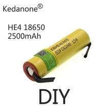 18650 Nieuwe Originele 18650 Lithium-Ionen Oplaadbare Batterij Geschikt Voor Lg HE4 2500Mah 3,7 V Maximale 35A Ontlading + nikke