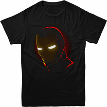 Iron Man T-Shirt Iron Man Mask Birthday Gift Festive Unisex Adult & Kids Tee Top Personality Custom Tee Shirt(China)