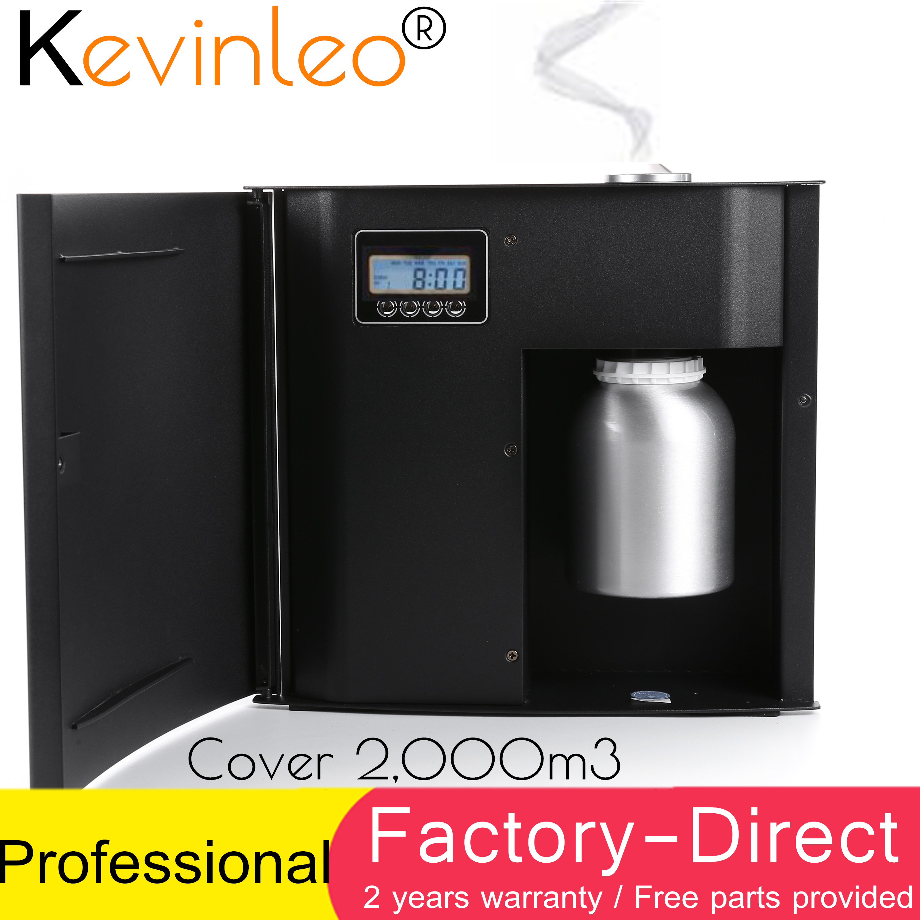 7,500 sq.ft Scent Machine Fragrance Unit Coveragea Area 500ml Cartridge For Office Hotel Home Air Purifier Air Ionizer for HVAC