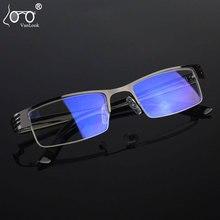 VANLOOK Blue Light Blocking Computer Glasses Mens Metal Spectacle Frames For Women Screen Protection Optical Eyewear