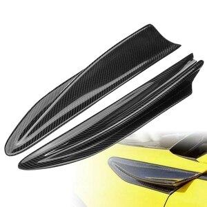 Guardabarros lateral de fibra de carbono 2 uds, cubierta de conductos embellecedores para Subaru BRZ Toyota 86 GT86 Scion FR-S