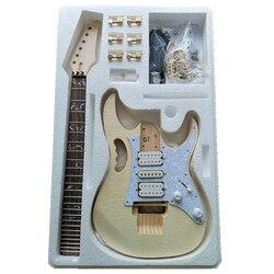 Премиум DIY электрогитара комплект-Незавершенный проект гитары Комплект
