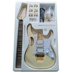 Premium DIY Electric Guitar Kit - Unfinished Project Guitar Kit