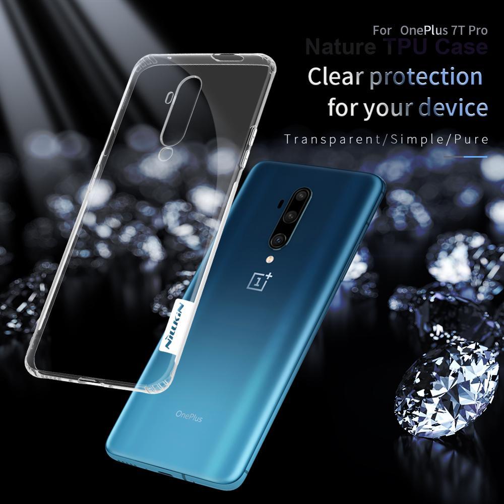 A OnePlus 7T Pro One Plus 7T Pro eredeti Eredeti NILLKIN átlátszó - Mobiltelefon alkatrész és tartozékok