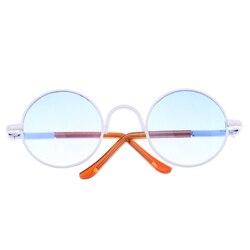 Retro Round Frame Glasses Eyeglasses for 1/6 BJD Blythe 9cm Salon Doll EXO Doll