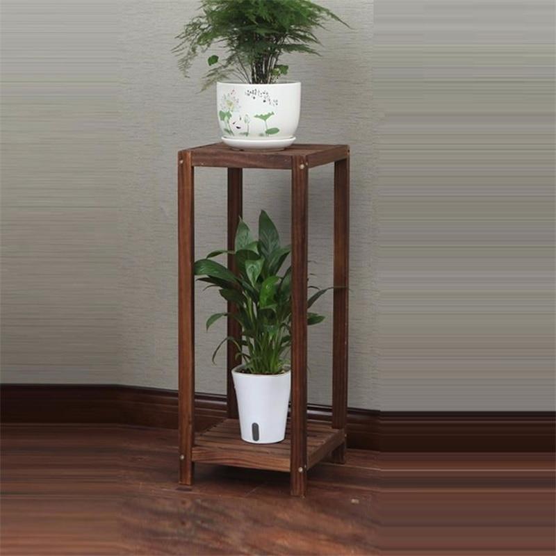 Pot Mueble Plantas Ladder Wood Indoor Estante Para Flores Dekoration Rack Outdoor Flower Stand Stojak Na Kwiaty Plant Shelf