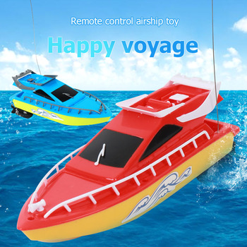RC Boat Kids Toy Super Mini Speed Remote Control Ship 2 Colors 20M High Performance Electric Boats Toys For Children Barco Gifts 2