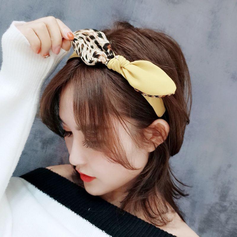 Fashion Women Girls Korean Style HOOP-Headband Hair Side-Clip-Accessories B U2W5