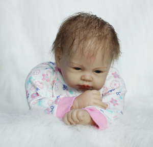 """Image 5 - OtardDolls 22 """"lalki Bebe Reborn 55cm Handmade Reborn laleczka bobas winylu silikonowe boneca realistyczne zabawki dla dziewczyn urodziny prezenty"""