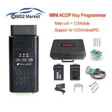 Yanhua mini programação de chave acdp, mestre para bmw CAS1 CAS4 + fem/bdc, programação de chave por obd obd2 port, diagnóstico módulo + 12 ferramenta