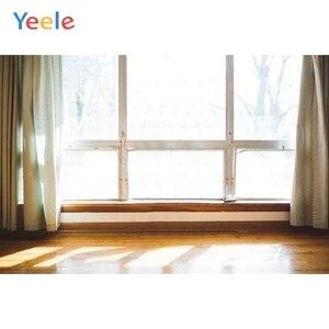 Image 5 - Yeele biały dom kurtyna okno słońce wnętrze fotografia tła dostosowane fotograficzne tła dla Photo Studio