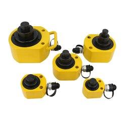 Cilindro hidráulico ultrafino de varias etapas gato hidráulico 10 T/20 T/30 T/50 T/100 T Y