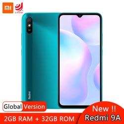 Глобальная версия смартфона Xiaomi Redmi 9A 9 A, 2 ГБ 32 ГБ, Восьмиядерный процессор MTK Helio G25, дисплей 6,53 дюйма, аккумулятор 5000 мАч, задняя камера 13 МП AI