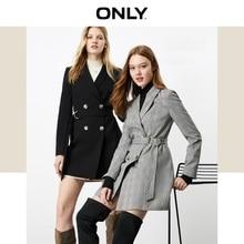 Только Осенняя зимняя женская тонкая куртка средней длины   119308542
