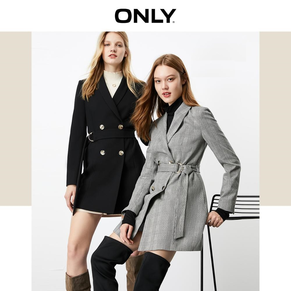 ONLY Autumn Winter Women's Mid-length Thin Suit Jacket | 119308542