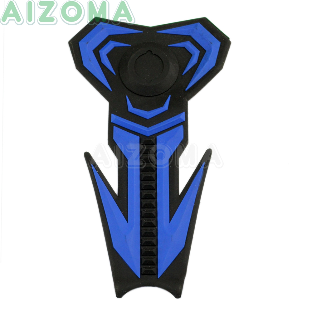 Streer Motorcycle Waterproof Oil Gas Fuel Tank Protection <font><b>Stickers</b></font> Pad Cover Universal for KAWASAKI HONDA <font><b>YAMAHA</b></font> FZ6 FZ1 FZ-07 image