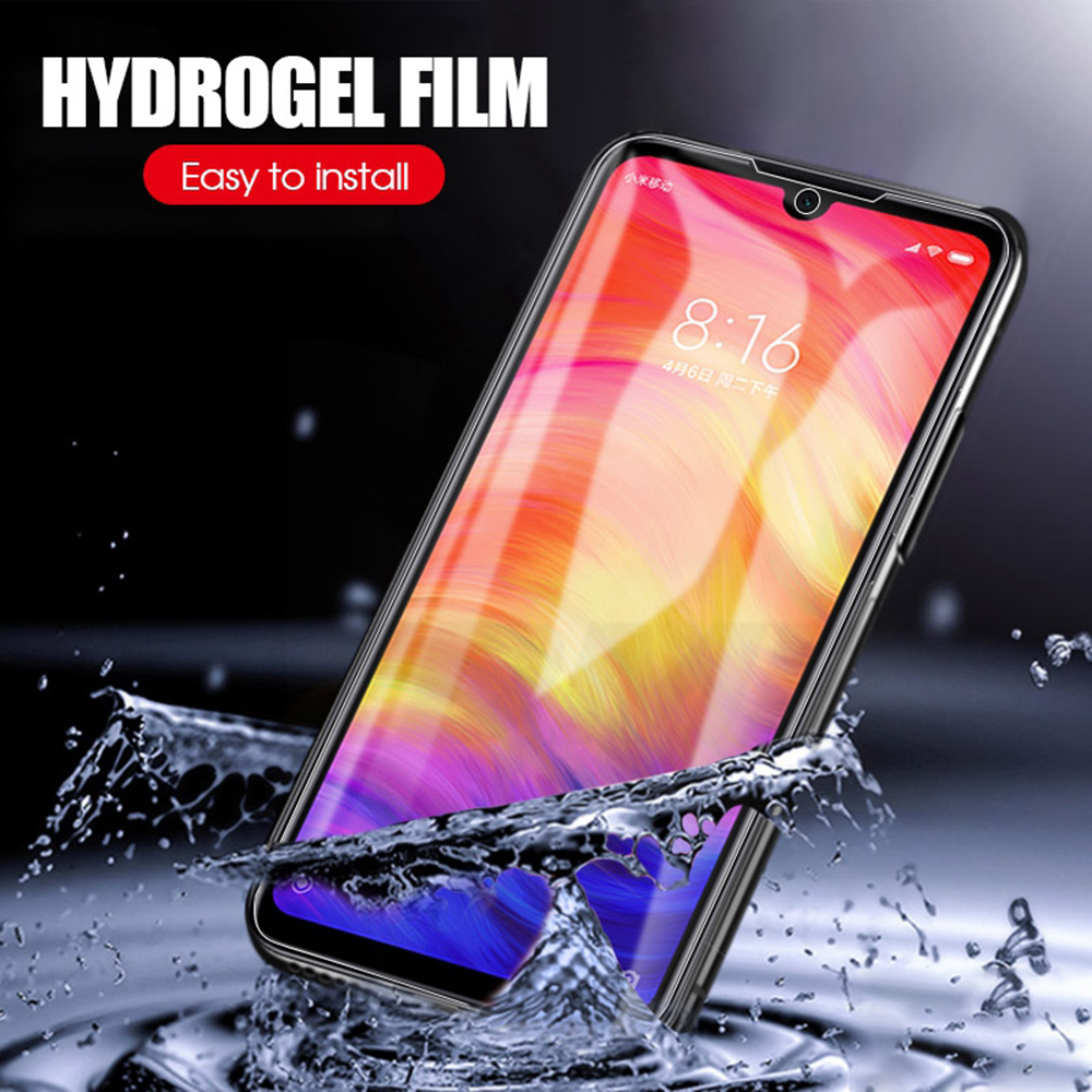 <font><b>300D</b></font> Screen Protector Hydrogel Film For Xiaomi Redmi note 7 8 5 pro Protective Film For Redmi note 9S 9 4X 7A K20 pro Not Glass image