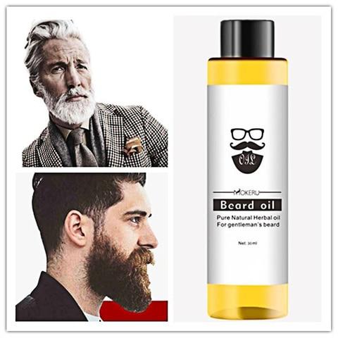 30ml Mokeru 100% Organic Beard Oil Hair Loss Products Spray Beard Growth Oil for Growth Men Beard Hair Grow TSLM2 Pakistan
