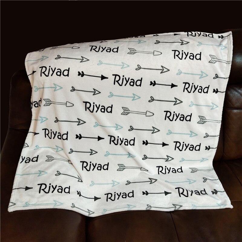 Personalized Baby Blanket Swaddling For Baby Blankets Baby Swaddle Newborn Infant Gift Baby Bedding Crib Blanket Birthday Gift