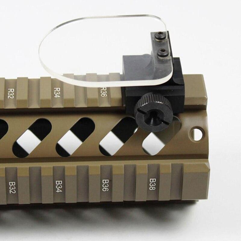 Óculos de proteção protetor rifle airsoft lente