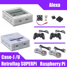 NESPi Case for Raspberry Pi 3 B+(Plus) NES FS Style Case Enclosure with Fan & Heatsinks Raspberry Pi 3 Model B+,3B(China)
