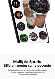 Image 5 - New L5 Update L16 Smart Watch Men IP68 Waterproof Multiple Sports Mode Heart Rate Weather Forecast Bluetooth Smartwatch