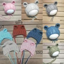 Newborn photography props   hats, mohair woven props, newborn photography clothing