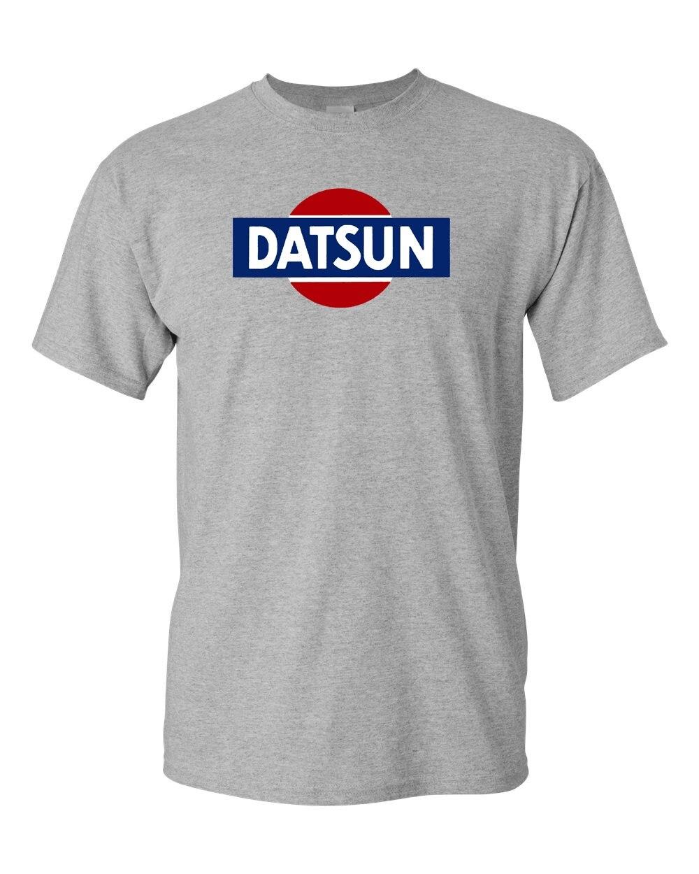 Camiseta logotipo retro branco datsun novo! T 240z 260z 280z zx 510 fairlady marca de moda t camisa moda camisetas gráficas