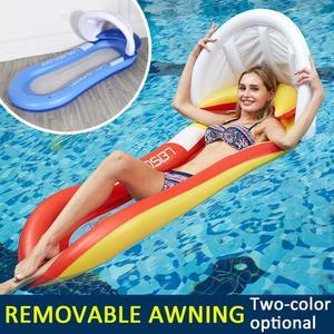 Colchón inflable flotante de berenjena para verano, flotador circular de isla, juguete de fiesta de piscina de agua fría