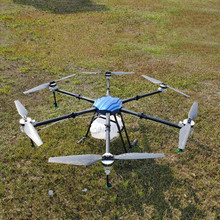 SA625 25キロ農業噴霧ドローン防水飛行プラットフォーム6軸1850ミリメートルhexacopter折りたたみフレーム25L sprinkキットX9電源