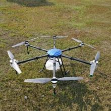 SA625 25KG tarım püskürtme Drone su geçirmez uçuş platformu 6 eksen 1850mm Hexacopter katlanır çerçeve 25L Sprink kiti X9 güç