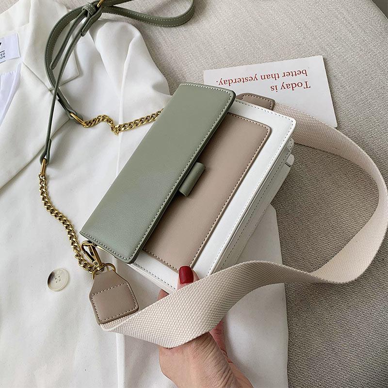 Leather Crossbody Bags For Women 2019 Travel Women Handbag Fashion Simple Shoulder Messenger Bag Ladies Cross Body Bag Women