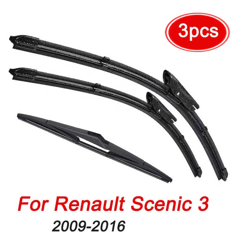 Grand Scenic 3 2009 2010 2011-2016 Windshield Windscreen Rear Window Windscreen Wipers and Parts Wiper Rear Wiper Blade For Renault Scenic 3