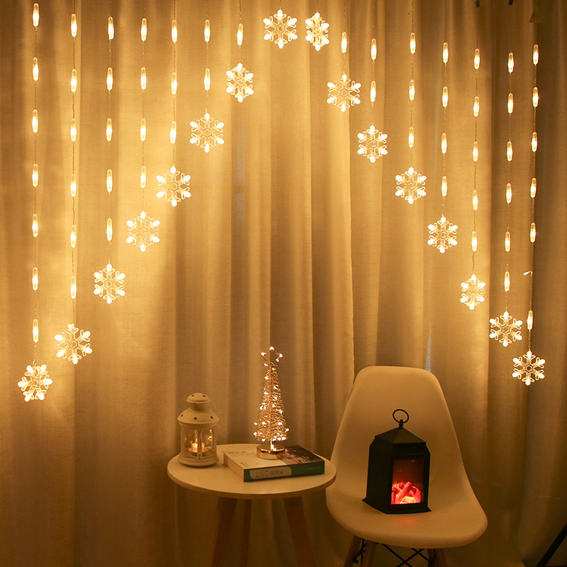 Christmas <font><b>Decoration</b></font> LED <font><b>Home</b></font> Outdoor <font><b>Holiday</b></font> Christmas <font><b>Decoration</b></font> <font><b>for</b></font> <font><b>Home</b></font> <font><b>Xmas</b></font> String Fairy Curtain Garlands New Year Decor image