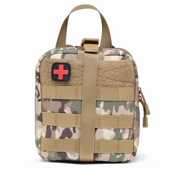 Utility IFAK Tactical Molle Medical Pouch Military First Aid Kit Outdoor Sports Travel Camping Hiking Hunting Emergency Pack Bag my days tactical ifak first aid bag molle emt rip away medical military utility pouch rescue package for travel hunting hiking